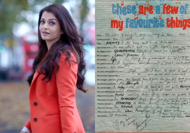 Is this really Aishwarya's 'slam book' which went