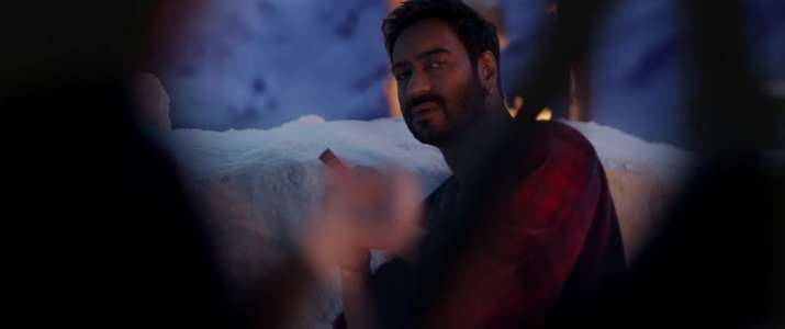 India Tv - Ajay Devgn in a still from Shivaay