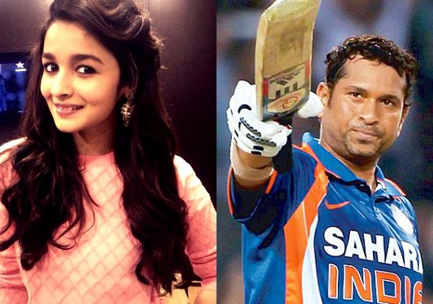 What's common between Alia Bhatt and Sachin Tendulkar?