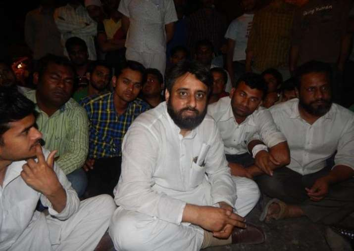 Aam Aadmi Party legislator Amanatullah Khan