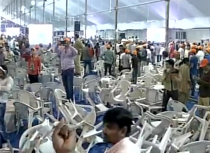 Patels create chaos at Amit Shah's Patidar meet in Surat