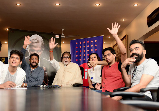 Big B connects with over 3.5 lakh school students via