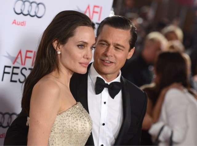 Angelina Jolie and Brad Pitt | India TV