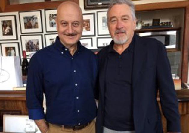 Anupam Kher meets Robert De Niro