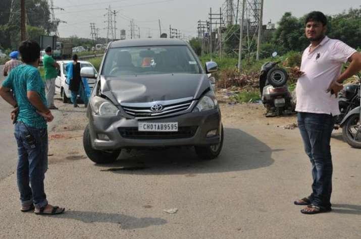 Arvind Kejriwal's car met with minor accident in Punjab |
