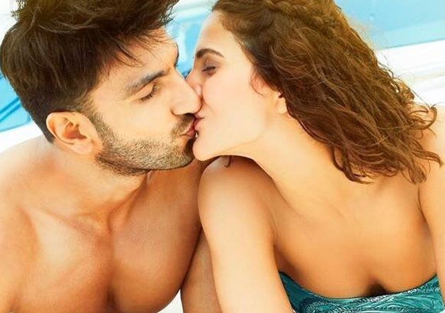Ranveer and Vaani unveil 'Labon Ka Karobaar' song