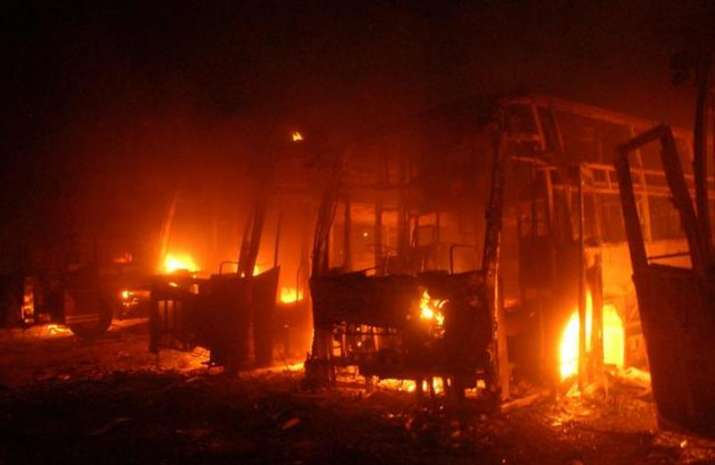 Cauvery stir: Woman set ablaze 42 buses for Rs 100 and