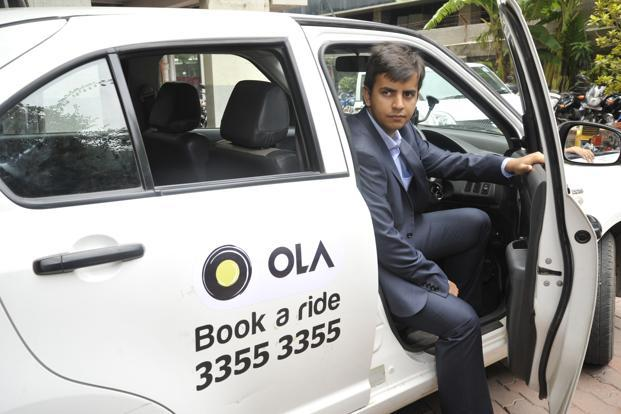 Bhavesh Aggarwal, co founder and chief executive, Ola cabs
