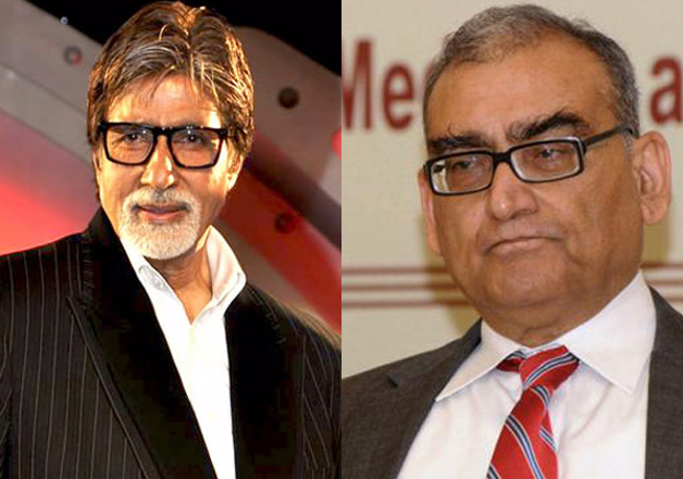 Big B responds to Markandey Katju's 'nothing in head'