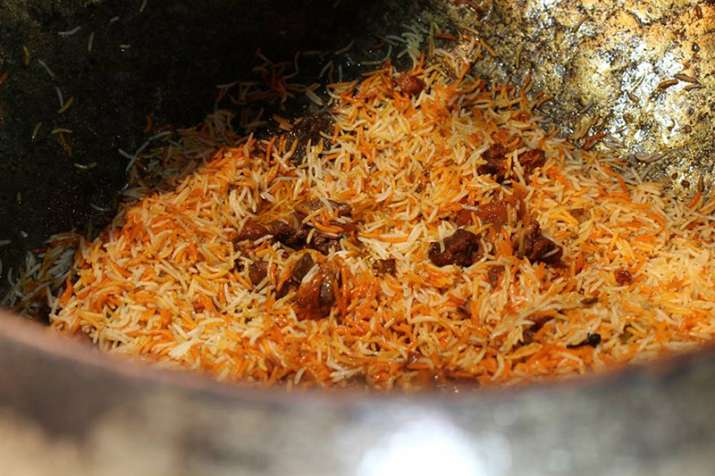 Beef found in Biryani