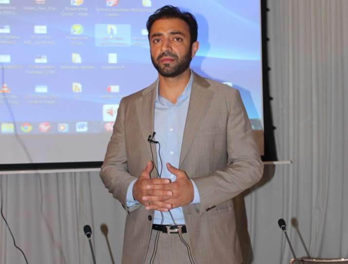 Exiled Baloch leader Brahamdagh Bugti