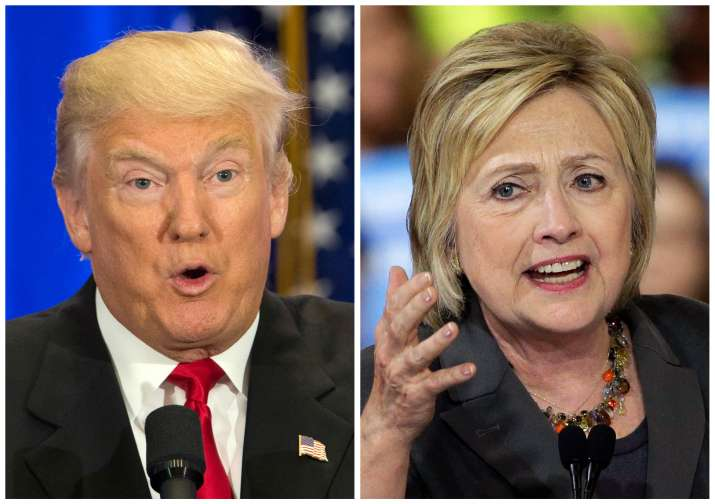 Hillary Clinton and Donald Trump will face each other in