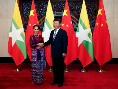 China-Myanmar strategic ties