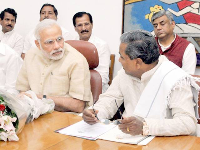 CM Siddaramaiah seeks PM Modi help | India TV