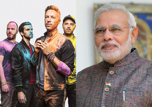 Fans of Coldplay should thanks PM Modi
