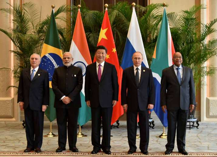 BRICS leader before their meeting