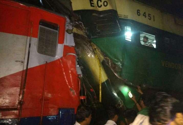 Train accident near Kathojodi station at Cuttack