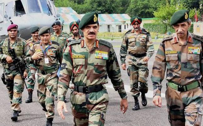 Army chief Dalbir Singh