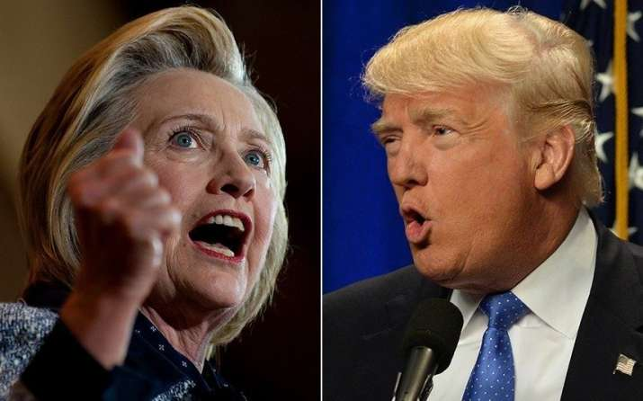 Live: Hillary Clinton vs Donald Trump in first US