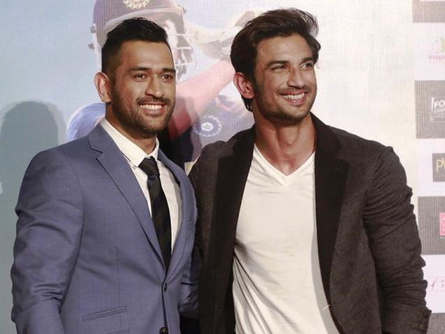 Reel Dhoni Sushant shares screen space for the first time