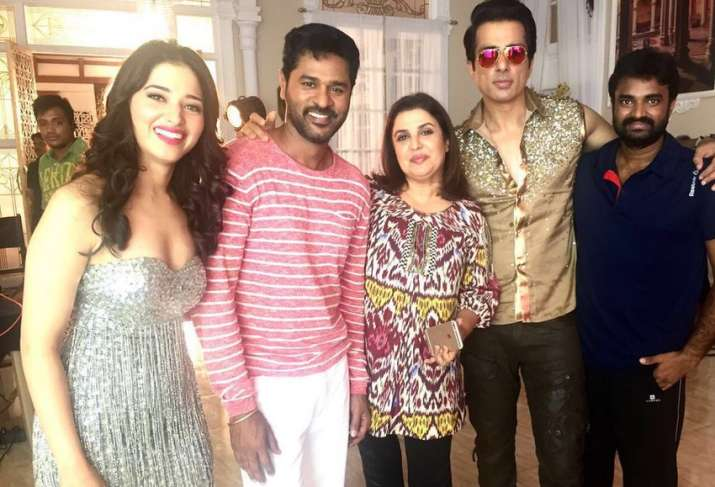 'I am Prabhu Deva's biggest fan', admits Farah Khan