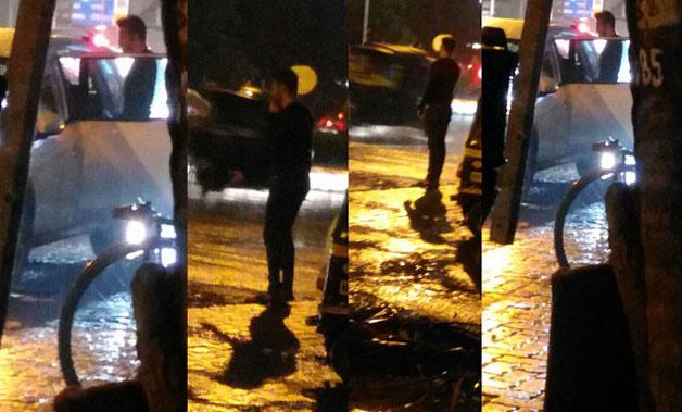 India Tv - Bigg Boss 8 couple Karishma Tanna-Upen Patel spotted fighting on Mumbai streets
