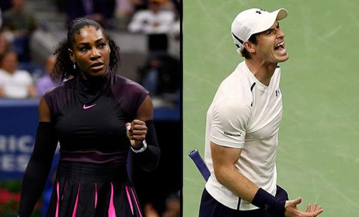 US Open: Andy Murray crashes out, Serena Williams enters