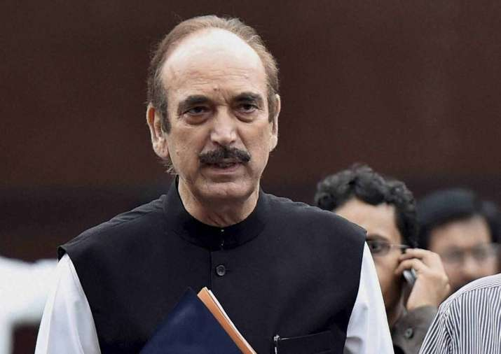 Ghulam Nabi Azad was one of the 26 members of delegation