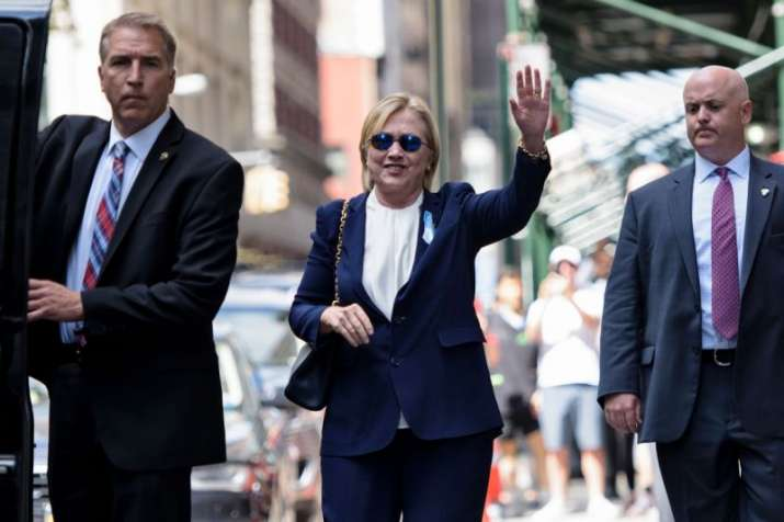 Pneumonia-hit Hillary Clinton used a body double, claim