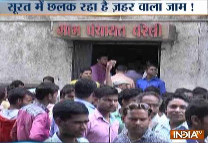 15 died in a suspected hooch tragedy in Surat