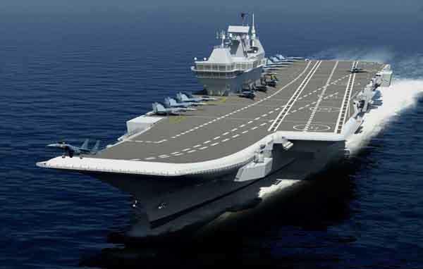 Indigenous Aircraft Carrier - Representational