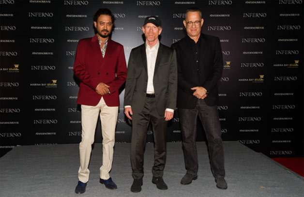 Director Ron Howard shares his experience of working with