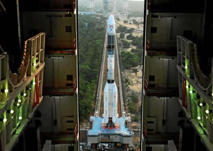 India Tv - ISRO launches GSLV-F05 rocket carrying INSAT-3DR