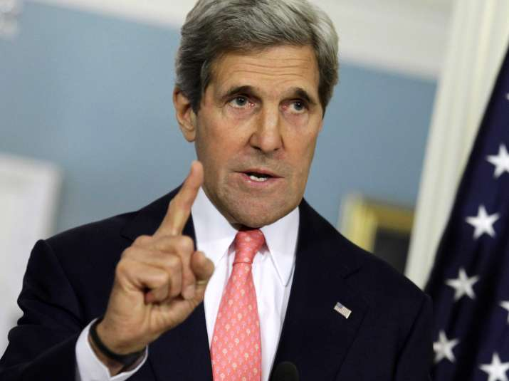 'Stop giving safe haven to terrorists', John Kerry