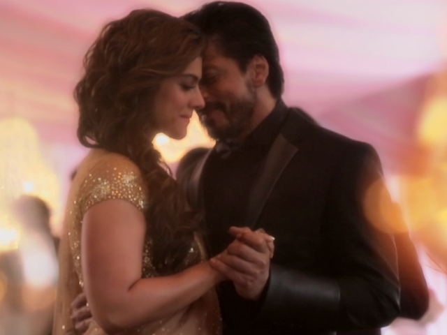 India Tv - Kajol and SRK