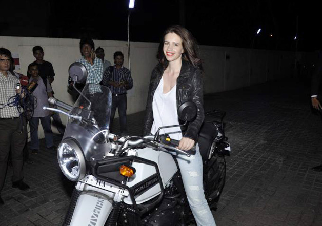 Kalki Koechlin to have real life motorbike adventure with