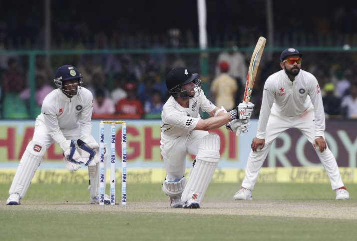 INDvsNZ, 1st Test, Day 2