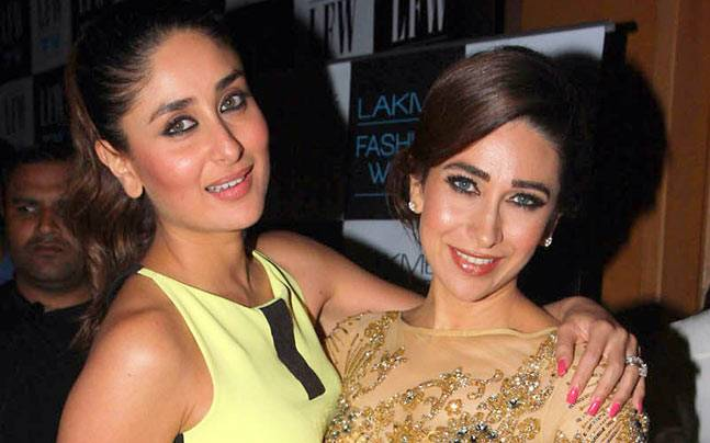 Karisma Kapoor wishes her 'best' sister Kareena with an