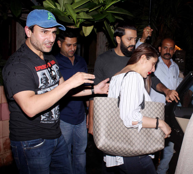 India Tv - Here's how Saif Ali Khan is pampering soon-to-be mommy Kareena Kapoor