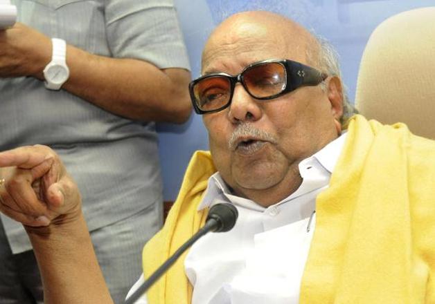 DMK president and former Tamil Nadu Chief Minister M.