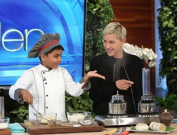 6-year-old Indian chef cooked a storm at American chat show