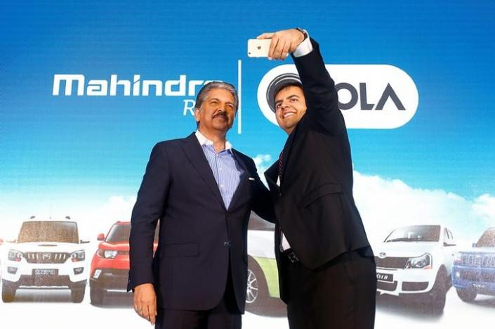 Mahindra joins hands with ride-sharing firm Ola to rev up
