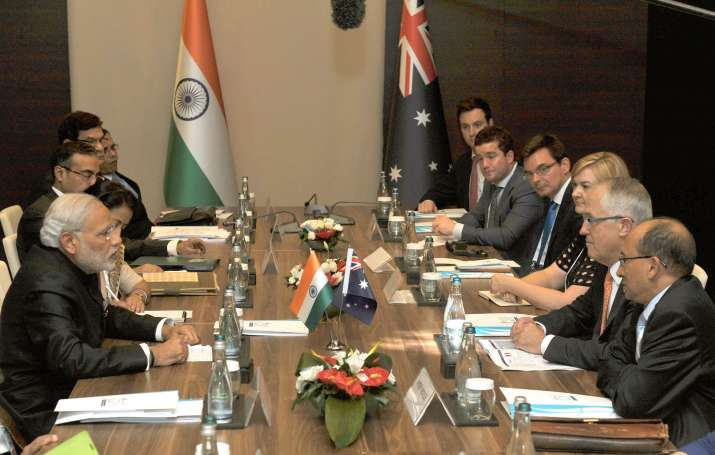 PM Modi and Malcolm Turnbull | India TV
