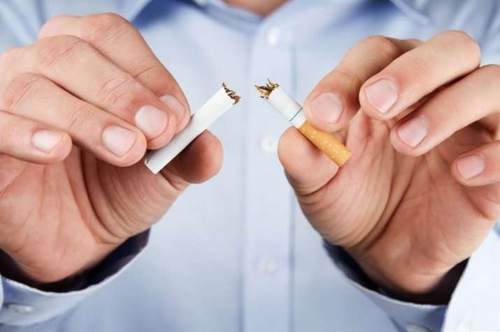 Study finds nicotine without tobacco safe, helps keep