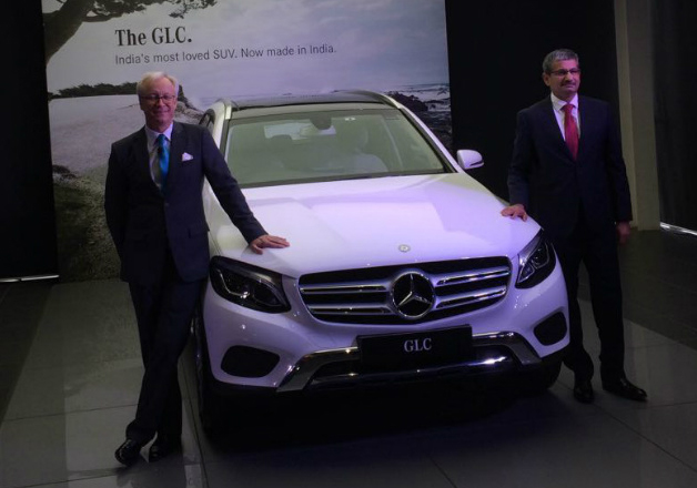 Mercedes' launches India made SUV at Rs 47.9 lakh