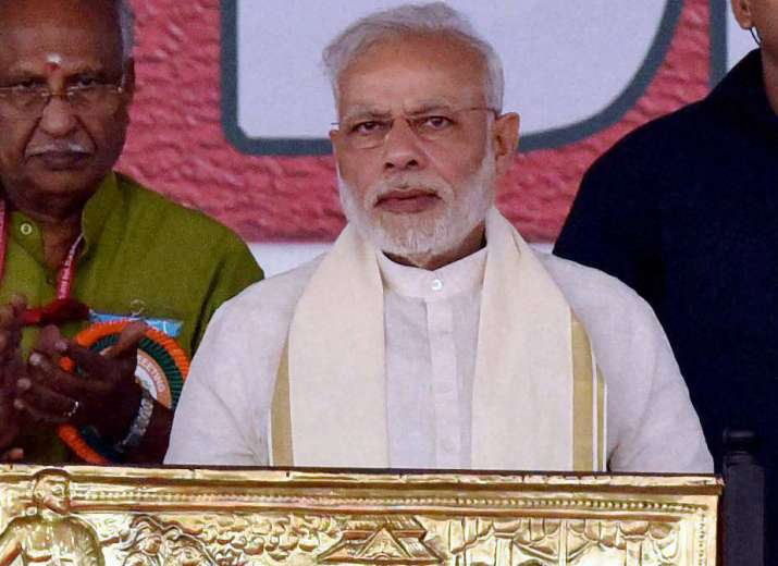 Prime Minister Narendra Modi at BJP National Council meet