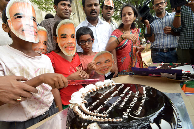 PM Modi's birthday