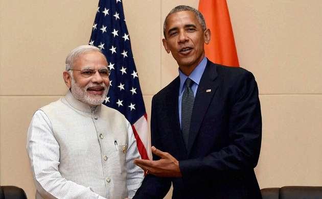 PM Modi with Barack Obama
