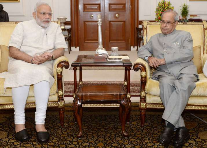 Prime Minister Narendra Modi today called on President