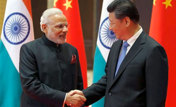 PM Modi with President Xi